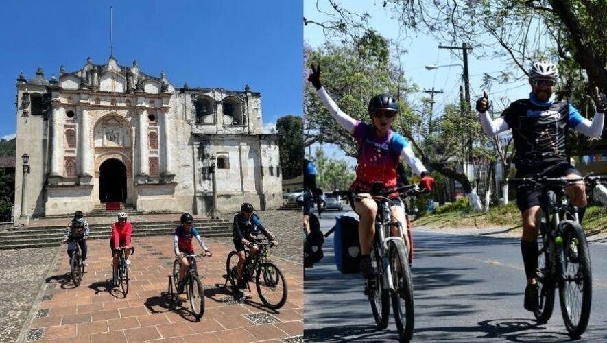 Recorrido en bicicleta por municipios de Sacatepéquez   Septiembre 2021