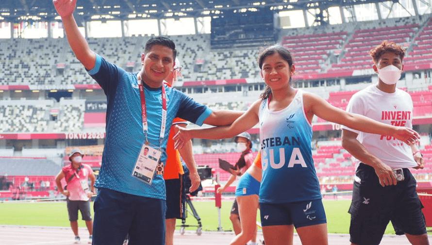 Resultado de Ericka Esteban en los Juegos Paralímpicos de Tokio 2020