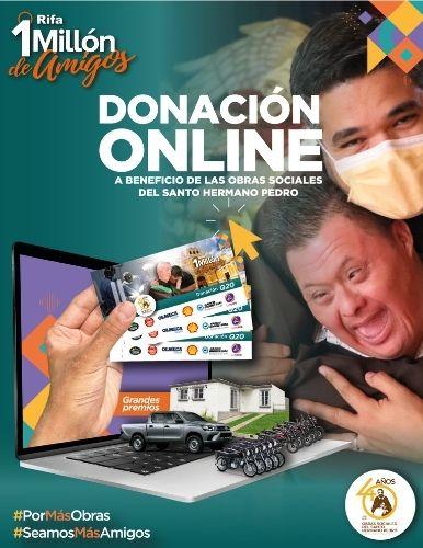 Rifa 1 millon de amigos Guatemala