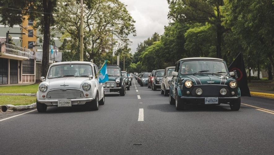 Rodada de MINI Cooper, festival familiar hacia varios puntos de Guatemala | Noviembre 2021