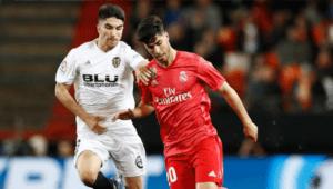 Transmisión en vivo del partido Valencia vs. Real Madrid   Septiembre 2021