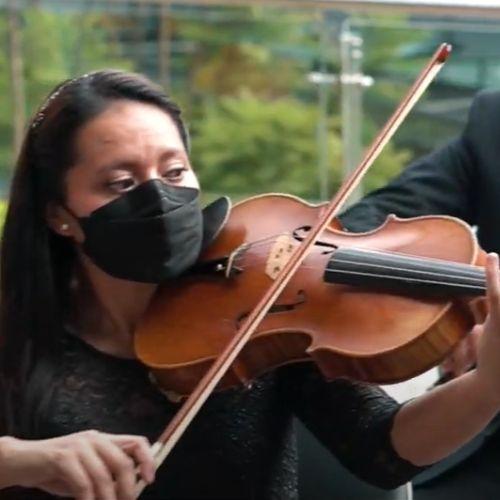 Violinista de Querido Arte video popurri Independencia