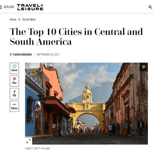 antigua guatemala medioa internacional mejor ciudad