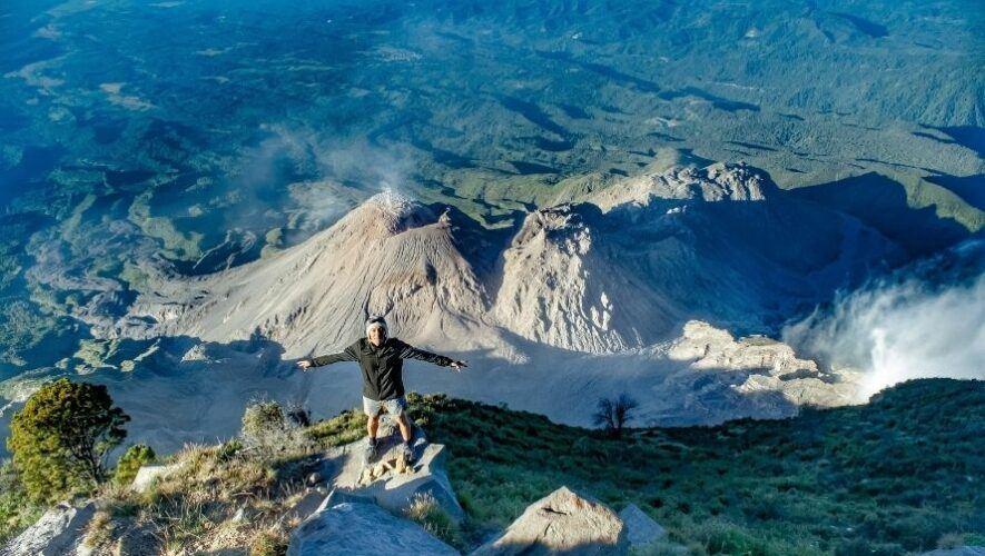 Ascenso nocturno al Volcán Santa María, Quetzaltenango   Octubre 2021