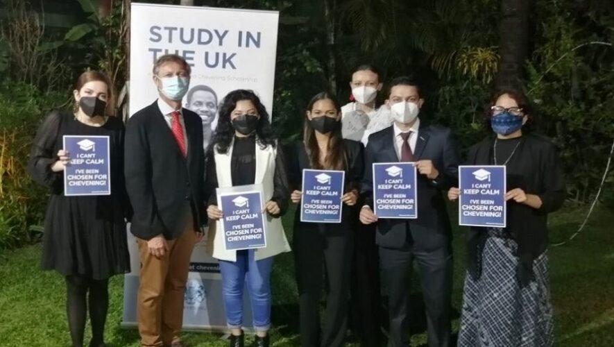 Charla sobre becas Chevening para estudiar maestría en Reino Unido, Guatemala   Septiembre 2021