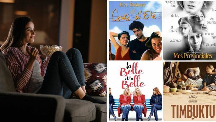 Cinema a la carta de cine francés de Alianza Francesa, Guatemala   Septiembre 2021
