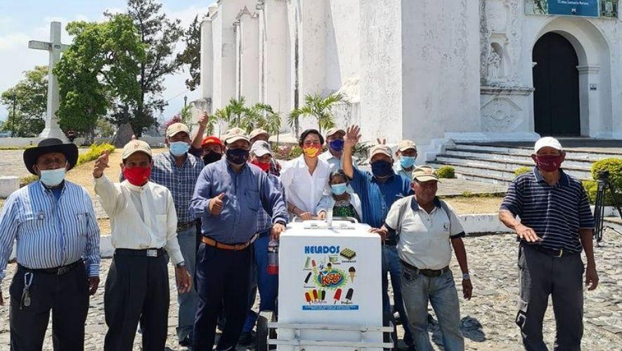 Gran rifa a beneficio de los Abuelitos Heladeros de Guatemala 2021   Octubre 2021