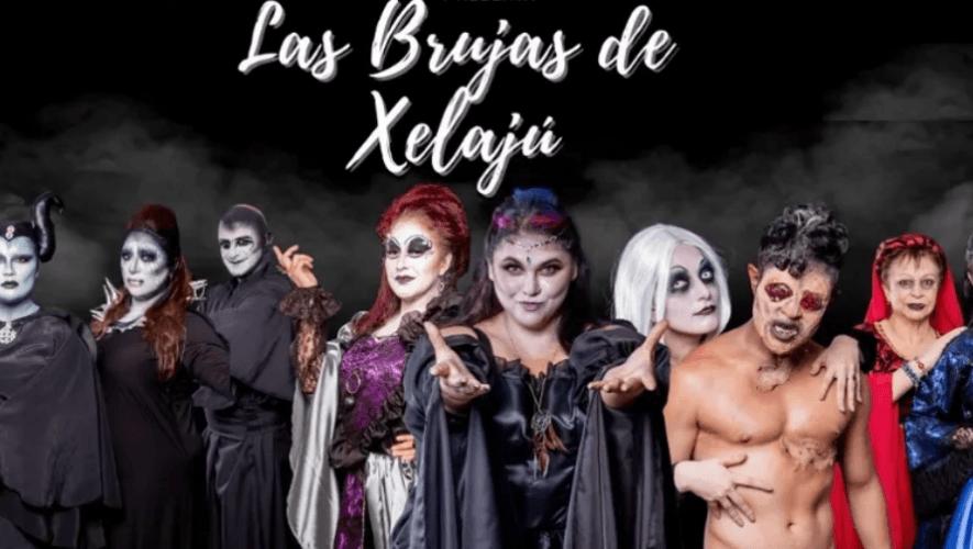 Las Brujas de Xelajú, obra de teatro en el Teatro Lux   Octubre 2021