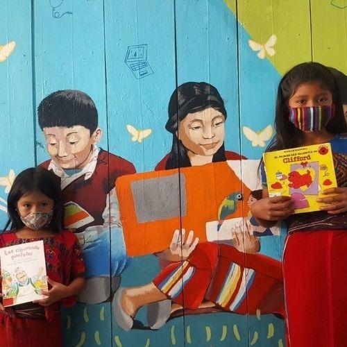 niñas de Horizonts sin límites ixil guatemala