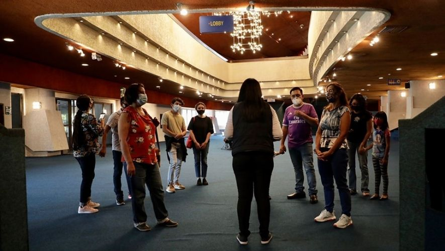 Recorrido guiado por el Centro Cultural Miguel Ángel Asturias, Ciudad de Guatemala   2021
