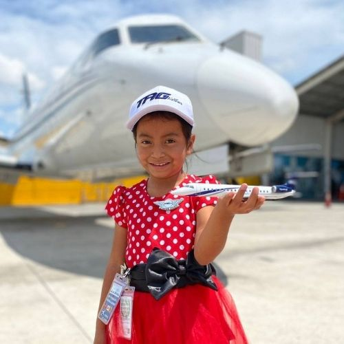 Cumplio su sueño aeromoza por un día Guatemala