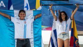Guatemala ganó 4 medallas de surf octubre 2021
