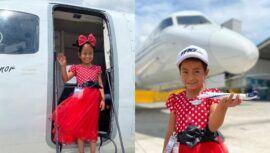 Keily cumplió su sueño de ser aeromoza por un día Guatemala
