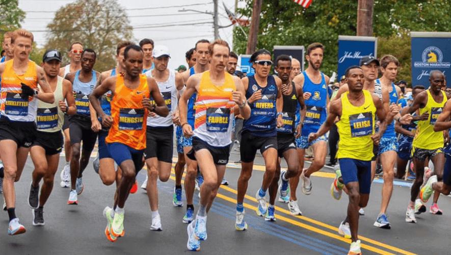 Luis Rivero fue el mejor latinoamericano de la Maratón de Bostón 2021