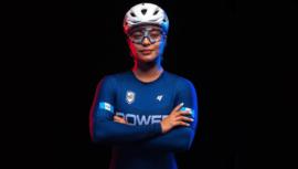 Nicole Hacohen, la primera mujer guatemalteca que compite en un Mundial de Pista