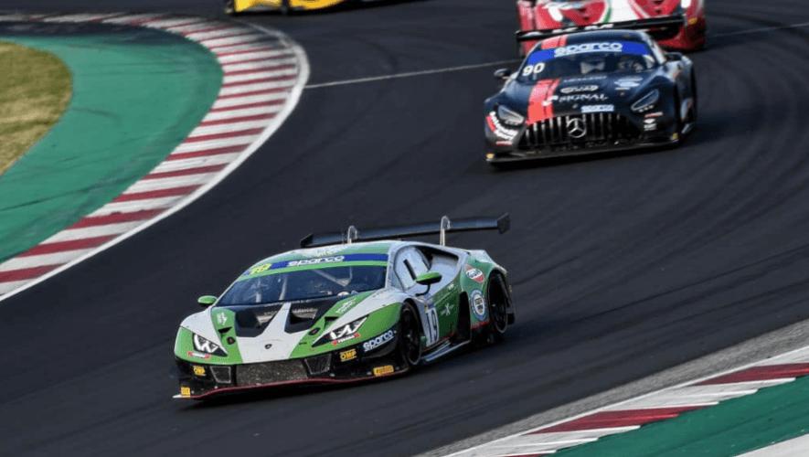 Participación de Mateo Llarena en la Ronda 7 del Campeonato Italiano GT   Octubre 2021