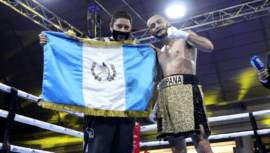 René de León ganó su sexta pelea profesional contra Edwin Pua en Panamá