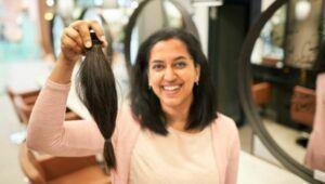 Donación de cabello para elaborar pelucas en Villa Nueva | Octubre 2021