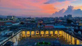 Recorrido en la Iglesia de Santo Domingo de la Ciudad de Guatemala   Octubre 2021