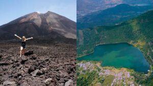 Ascenso al Volcán de Pacaya y camping de terror en Laguna Calderas, Guatemala | Octubre 2021